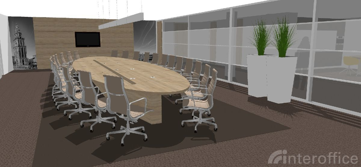 Interieurontwerp interoffice projectinrichting - Idee van interieurontwerp ...